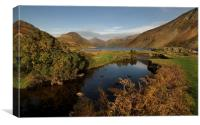 Wastwater lake district Cumbria., Canvas Print