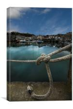 Padstow -  a different view, Canvas Print