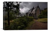 Church of St Mary and St Finnan, Canvas Print
