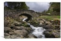 Ashness Bridge Lake District, Canvas Print