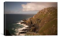 Botallack mines St Just, Canvas Print