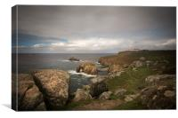 Lands End Cornwall , Canvas Print