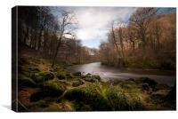River Wharfe, Canvas Print