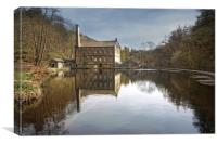 Gidson Mill Yorkshire, Canvas Print