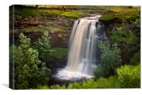 Hell Gill force, Canvas Print