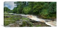 Stainforth force Yorkshire, Canvas Print