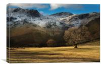 Hartsop above how , lake district , Canvas Print