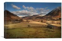 Hartsop valley Cumbria, Canvas Print