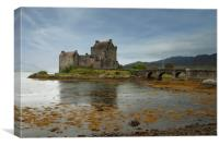 Eileen Donan castle Scotland  , Canvas Print
