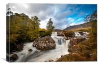 Rannoch moor Scotland , Canvas Print