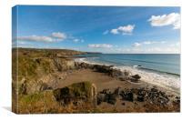 Kennack sands Cornwall, Canvas Print
