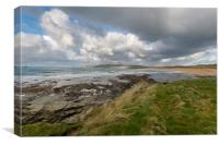 Constantine bay Cornwall, Canvas Print