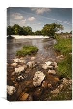 River Wharfe - Grassington, Canvas Print