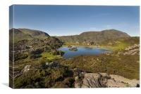 Innominate Tarn Lake District Cumbria, Canvas Print