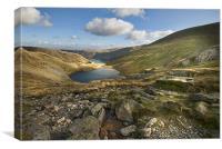 The Nan Bield Pass - Cumbria, Canvas Print