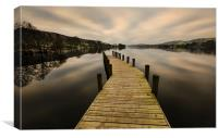 Coniston Water Jetty, Canvas Print