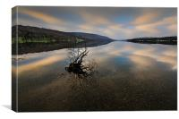 Coniston Dawn, Canvas Print