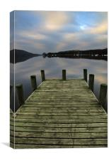 Early Morning At Coniston, Canvas Print