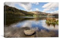 Grasmere Lake, Canvas Print