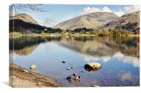 Tranquil Grasmere, Canvas Print