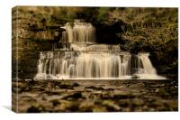 Cotter Force Waterfall, Canvas Print