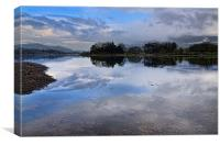Early Morning Derwentwater, Canvas Print