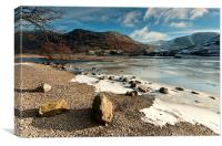 Brotherswater Winter, Canvas Print