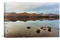 Derwentwater Calf Close Bay, Canvas Print