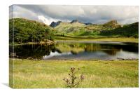 Reflective Tarn, Canvas Print