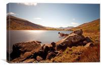 Llyn Mymbyr, Snowdonia, Canvas Print