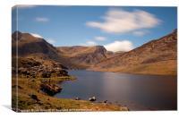 Snowdonia,Llyn Ogwen, Canvas Print