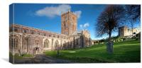St David's Cathedral, Canvas Print