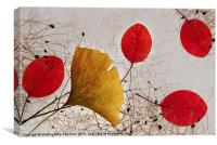 Falling leaves, Canvas Print