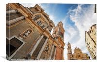 Saint Michel Basilica, Canvas Print