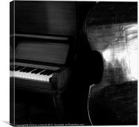 The Sound of Silence, Canvas Print