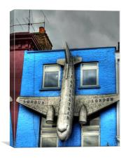 Plane - Camden High Street, Canvas Print