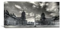 Old Royal Naval College - Greenwich, Canvas Print