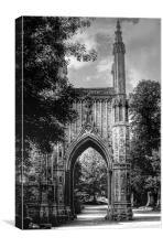 Chapel - All Saints Cemetery, Canvas Print