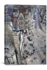Oxford Views, Canvas Print