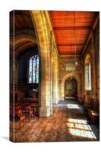 St Leonard Church - Downham, Canvas Print