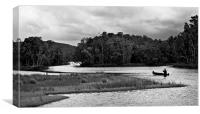 Backwater #6, Canvas Print