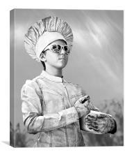 The Silver Chef, Canvas Print