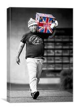 The Best of British, Canvas Print