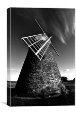 Halnaker windmill, Canvas Print