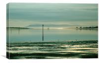 Chichester harbour, Canvas Print
