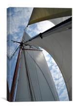 Under Sail, Canvas Print