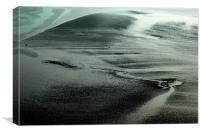 sands, Canvas Print