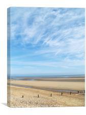 Camber Sands Beach, Canvas Print