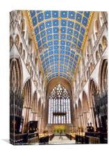 Carlisle Cathedral, Canvas Print