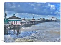 North Pier Blackpool, Canvas Print
